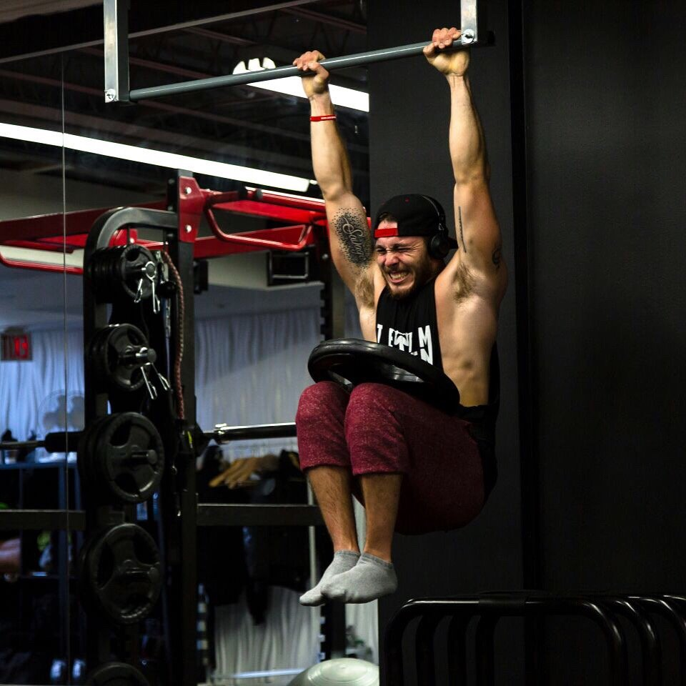 MONDAY WORKOUT ROUTINE – Training HRDR